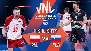 Poland vs. Slovenia - Highlights Semi-Final 2 | Men's VNL 2021