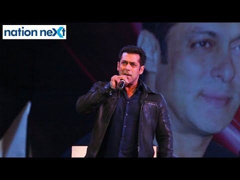 Watch Salman Khan sing his favourite song 'Main hoon hero tera'