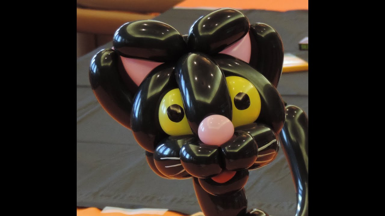 Make A Balloon Animal Cat