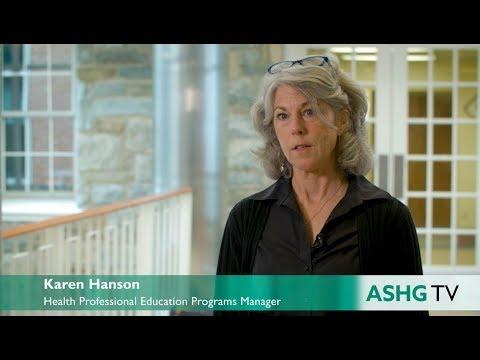 Health Professional Education Programs | ASHG TV 2017