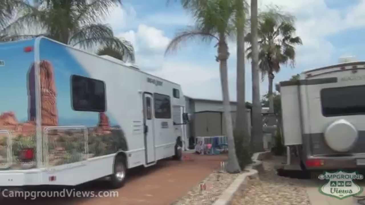 CampgroundViews com - Juno Ocean Walk RV Resort Juno Beach Florida FL