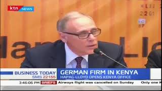 German Logistics company begins to invest in Kenya | Business Today