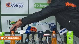 ¡Hernán Darío Herrera, tras el triunfo de Nacional en Copa sobre Leones!
