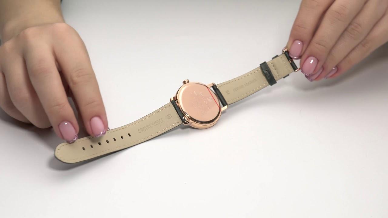 Женские часы Chanel Камни Swarovski - YouTube
