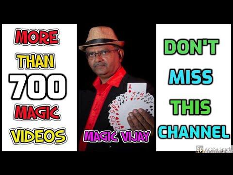 MAGIC TRICKS VIDEOS IN TAMIL #503 I ONLY 2 CARDS MATCH @MagicVijay