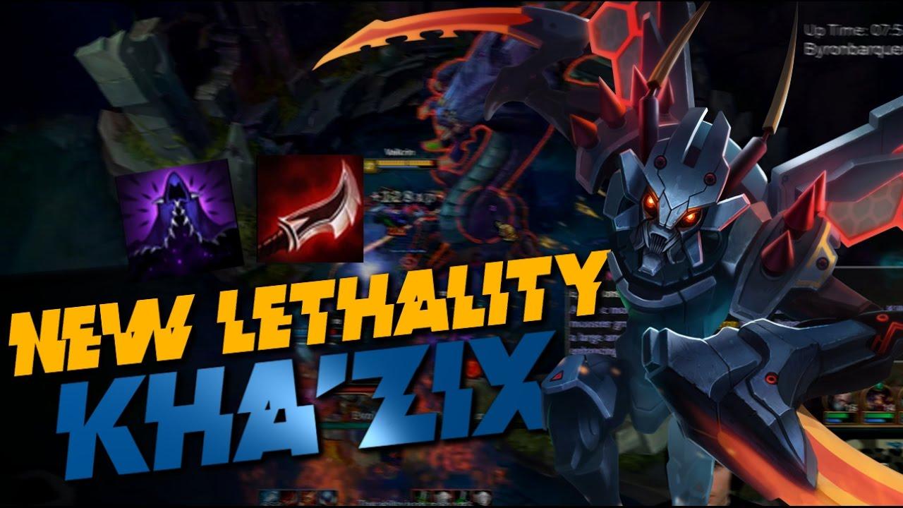 New Kha Zix Build