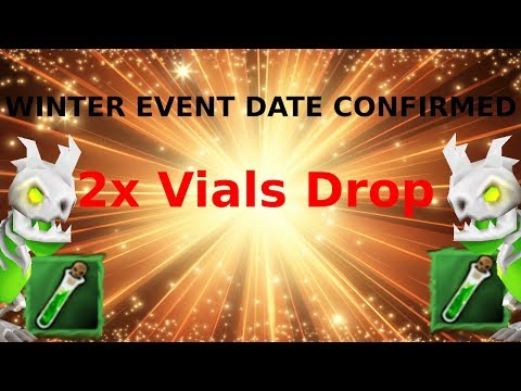 Winter Event Date Confirmed || 2x Vials Drop