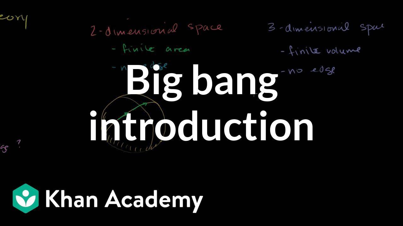 medium resolution of Big bang introduction (video)   Khan Academy