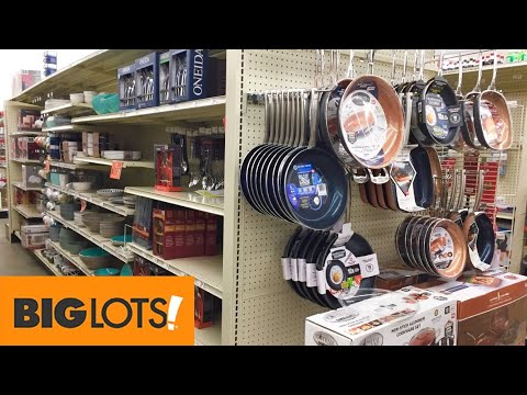 big-lots-kitchen-cookware-kitchenware-dinnerware-cook-ware-shop-with-me-shopping-store-walk-through