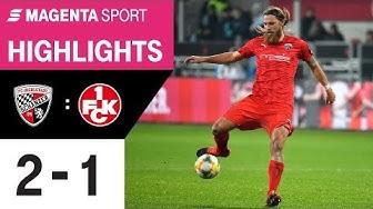 FC Ingolstadt - 1. FC Kaiserslautern | Spieltag 22, 19/20 | MAGENTA SPORT