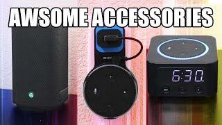 Echo dot 2 Accessories. Speaker Booster - Wall Mount - Alexa Clock