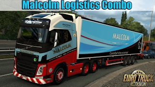 ETS2 - Malcolm Logistics Combo - Right Hand Drive