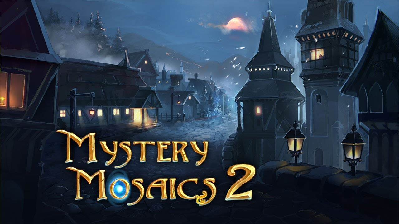 Mystery Mosaics 2 > iPad, iPhone, Android, Mac & PC Game