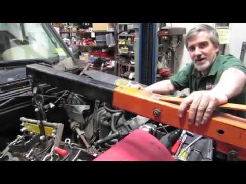 Discovery Series 2 Engine Replacement