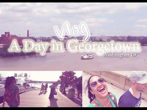 A day in Georgetown, Washington DC