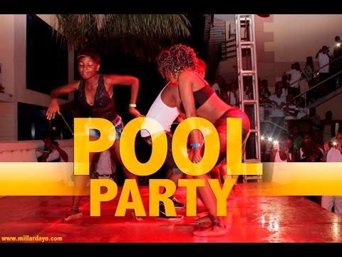 Pool Party Dar es salaam, Brothers and sisters walivyoenjoy.. muziki na kuogelea.