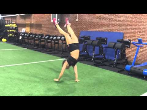 Jen Smith Handstand Walking