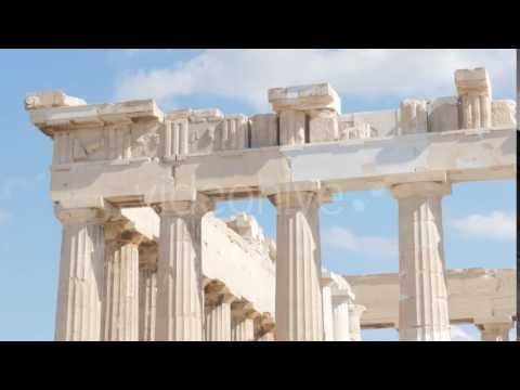 Travel View of Acropolis in Athens, Greece 4 - Stock Footage | VideoHive 14367378