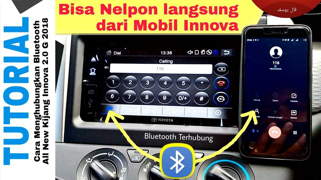 cara pengoperasian audio all new kijang innova vellfire 2017 tutorial fitur bluetooth g toyota indonesia youtube kantor telkom banjarbaru
