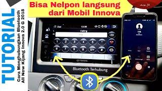 Cara Menghubungkan BLUETOOTH Innova G Toyota Indonesia