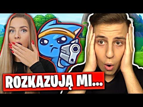 YouTuberzy ROZKAZUJĄ MI w Fortnite...