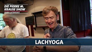 Lachyoga mit Pierre