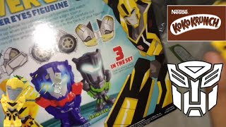 Koko Krunch with Free Transformers Robot In Disguise Figuri