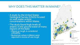 Arsenic in Private Drinking Water Wells: What You Should Know