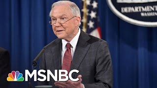 DOJ Won't Say If Jeff Sessions Is Recused On Paul Manafort (Exclusive) | Rachel Maddow | MSNBC