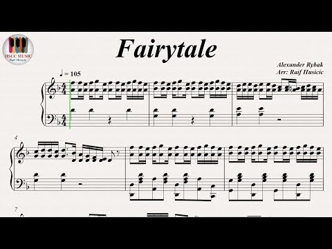 Fairytale  Alexander Rybak Norway, Eurovision Song Contest, Piano