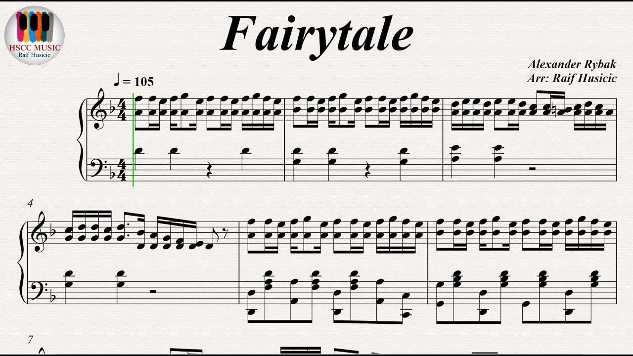 Fairytale Alexander Rybak Norway Eurovision Song Contest Piano