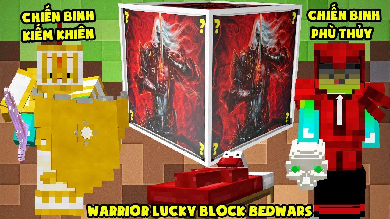 MINI GAME : WARRIOR LUCKY BLOCK BEDWARS ** THỬ THÁCH T GAMING TRỞ THÀNH CHIẾN BINH MẠNH NHẤT ??