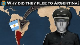 Why Did So Many German Officers Flee to Argentina after WW2?