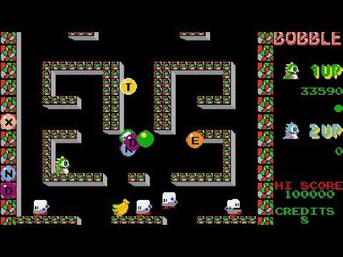 BUBBLE BOBBLE - Taito 1987 (Atari St) By Sala Giochi 1980