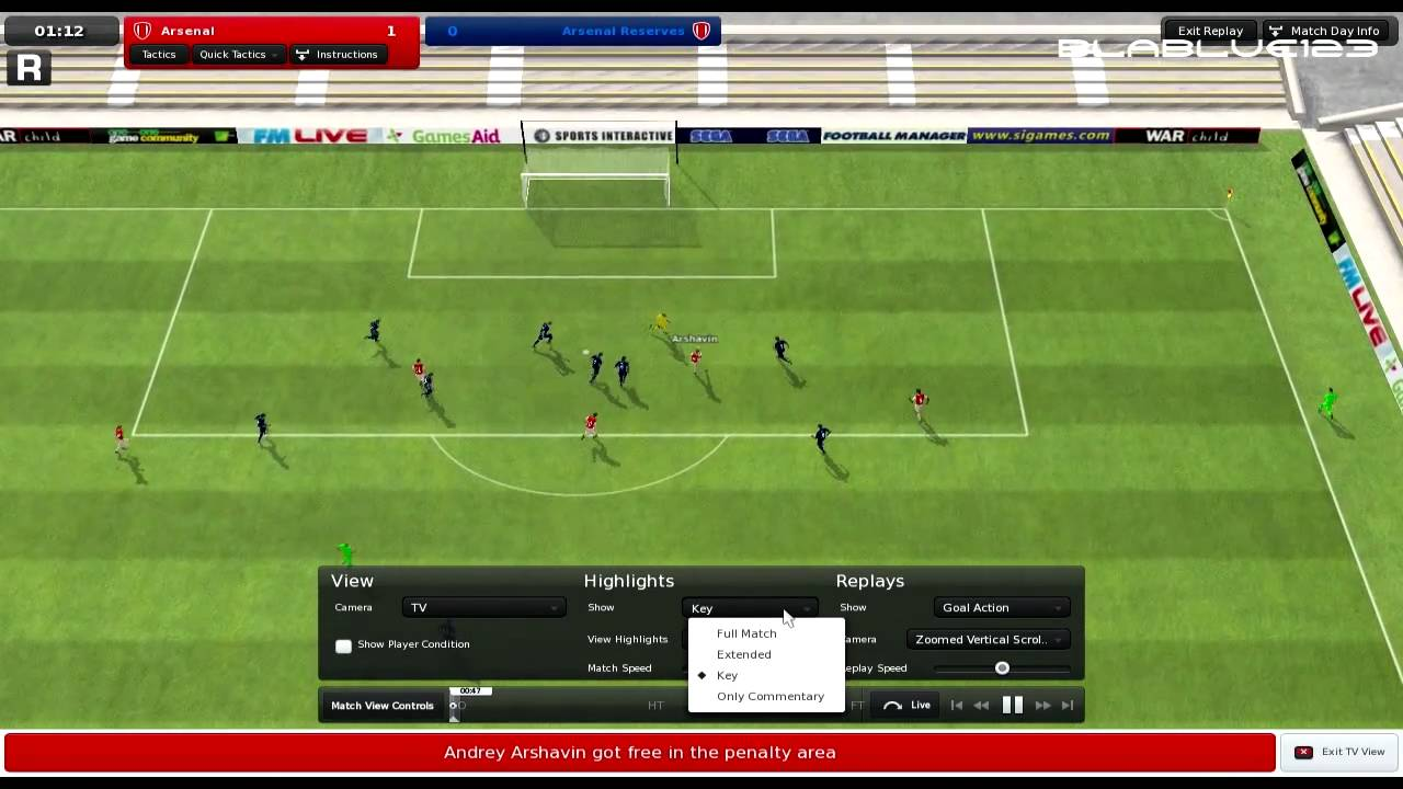 761633cf70 Football Manager 2011 PC Gameplay HD - YouTube