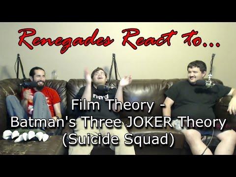 Renegades React To Film Theory Batman S Three Joker