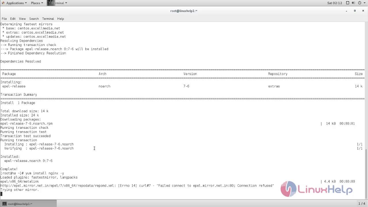 How to configure Nginx Load Balancer in CentOS | LinuxHelp Tutorials