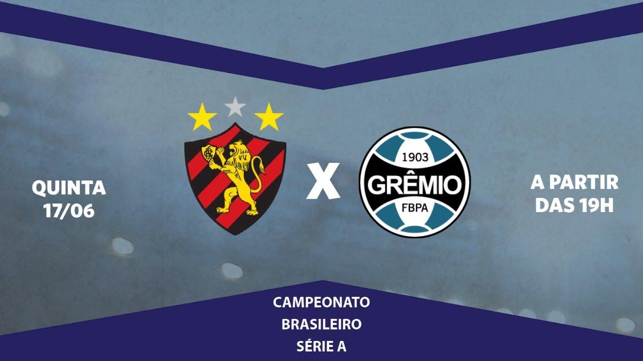 Sport x Grêmio ao vivo, pela Série A do Brasileiro, com o Escrete de Ouro da Rádio Jornal