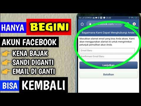 Langkah Cepat Mengembalikan Akun Facebook Yang Di Bajak