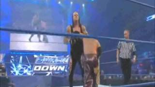 WWE Smackdown Undertaker vs Rey Mysterio World Heavyweight Championship match