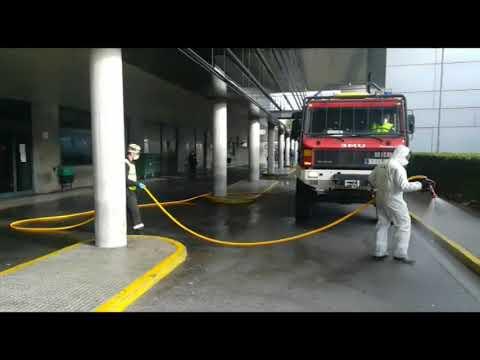 Despliegue de la UME en el Hospital de León