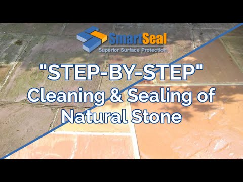 Natural Stone Cleaning Sealing Of Patios Floors Driveways