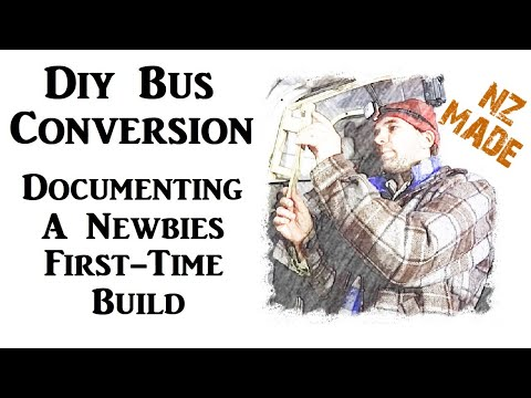 #1 - Another DIY Bus Conversion - How To Get Into A Tiny House On Wheels For A Family Of 4 In NZ
