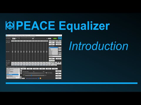 Peace - Tutorial 2 Introduction