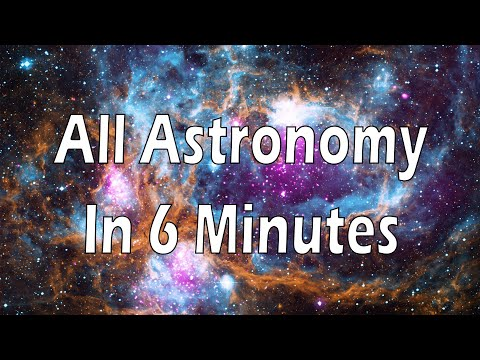 All of Astronomy in 6 minutes