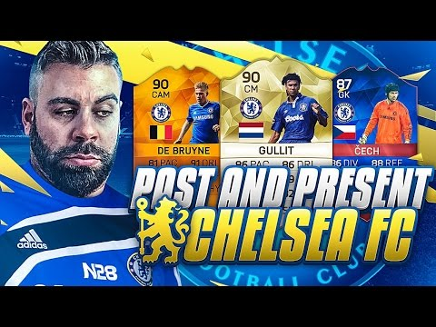 PAST AND PRESENT CHELSEA SQUAD BUILDER!!!! FIFA 16 Ultimate Team