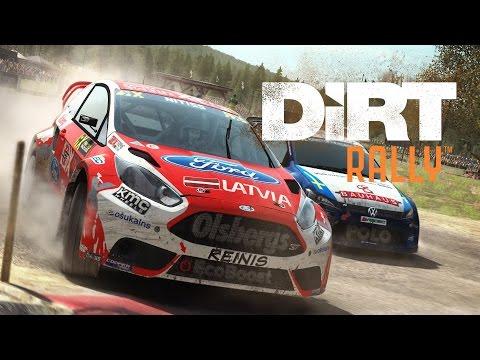 Dirt rally ужасная езда на citroen-4