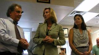 Kerry Healey & Sen Kelly Ayotte speak in Hollis  9 7 12