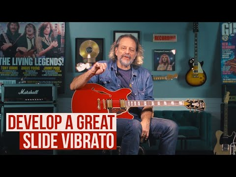 How to Develop a Great Slide Vibrato with Andy Aledort