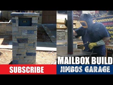 Stone Mailbox Build - Jimbos Garage